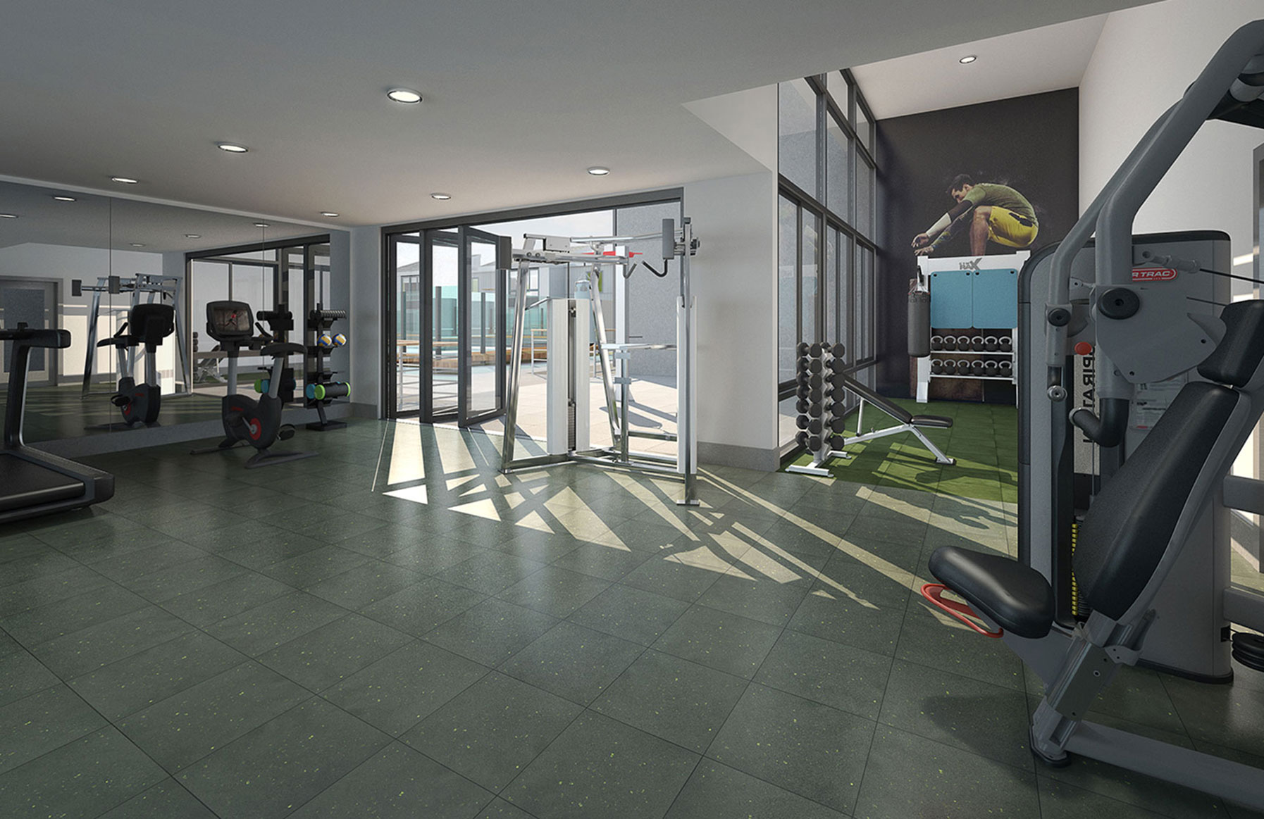 707 Leahy - Redwood City, CA - Fitness