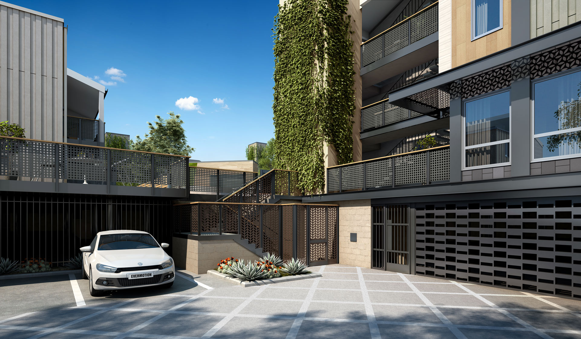 707 Leahy Apartments in Redwood City, CA - parking
